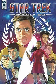 Star Trek Boldly go #10