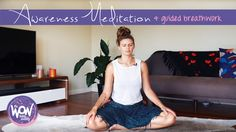 The WOWbeing Weekly - week 23 practice: awareness meditation Meditation Techniques, Meditation Practices, Mantra, Breathe, Perspective, Stress, Polish, Yoga, Formal Dresses