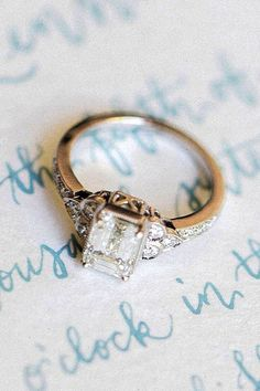 18 Vintage Engagement Rings With Stunning Details See more: #wedding #engagement #rings