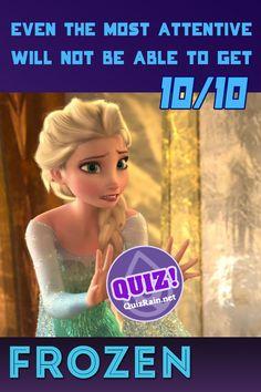Frozen Quiz, Frozen Two, Elsa Frozen, Disney Frozen, Quizzes For Kids, Fun Quizzes, Princess Anna, Princess Party, Disney Quiz