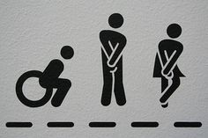European Toilet Tricks to Know Before You Go (Blue lights in Swiss public bathrooms. Wc Symbol, Toilet Symbol, Wayfinding Signage, Signage Design, Wc Icon, Funny Toilet Signs, Rick Steves Travel, Toilette Design, European Vacation