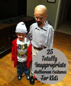 25 Inappropriate Halloween Costumes for Kids