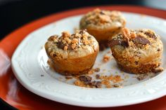 Butterfinger Cheesecake Bites - Every time I make these they get polished within minutes!
