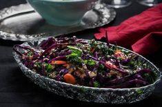 Sallad kål med tahinidressing - Recept - Stowr