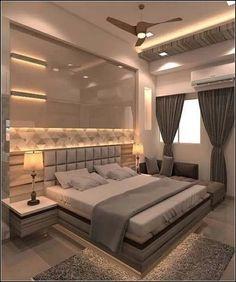 95 Lighting Ceiling Bedroom Ideas For Comfortable Sleep 5 Trendy Bedroom Lighting 6 - topzdesign . Modern Luxury Bedroom, Luxury Bedroom Design, Bedroom Closet Design, Modern Master Bedroom, Bedroom Furniture Design, Master Bedroom Design, Luxurious Bedrooms, Bedroom Ideas, Trendy Bedroom