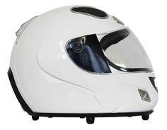 Sound System  Helmet  -  mit iPhone-Dockingstation, Bluetooth, weiß