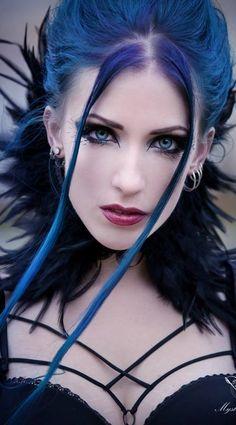 Model: Daedra * goth, goth girl, goth fashion, goth makeup, goth beauty, dark beauty, gothic, gothic fashion, gothic beauty, sexy goth,  alternative models, gothicandamazing, gothic and amazing, готы, готическая мода, готические модели, альтернативные моделиzing.com
