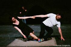 Partita-2 : Anne Teresa de Keersmaeker invite Boris Charmatz à danser avec elle sur la musique de Bach...