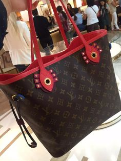 52ab9a0962e6 Louis Vuitton Neverfull MM Bag M41633 Flamingoc Louis Vuitton Neverfull Mm