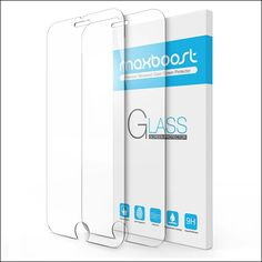 Maxboost Tempered Glass Screen Protector For Apple iPhone 8
