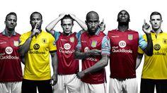 Aston Villa 15-16 Kits