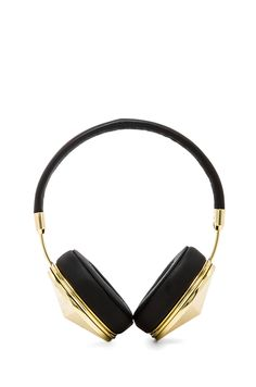 FRENDS Friends with Benefits Taylor Headphones in Gold & Black from REVOLVEclothing