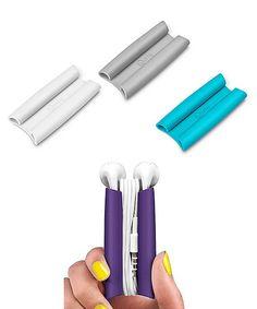 Look at this #zulilyfind! Wrapster Cord Organizer - Set of Four #zulilyfinds
