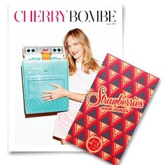 """We're teaming up with our pals at @cherrybombemag for the ultimate baking bundle: the """"Baked"""" issue of CB plus our Strawberries edition! In the store now! #squadgoals #indiepublishing #foodmags"""