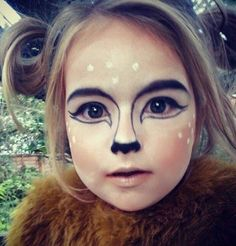 16 Deer Makeup And Antler Ideas For The Cutest Halloween Costume - Reh Schminken Cute Halloween Costumes, Halloween Make Up, Halloween Face Makeup, Pirate Costumes, Princess Costumes, Couple Halloween, Adult Costumes, Deer Costume For Kids, Halloween Ideas