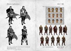 Concept Art: Ryse - Son of Rome  Kaija Rudkiewicz