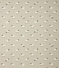 Save 29% on our Grey Sheep Contemporary Fabric from Sophie Allport. This Regular fabric is perfect for Curtains, Blinds & Upholstery.