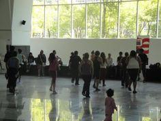 La explanada interna donde se juntan el centro comercial Forum Buenavista y la estación del Suburbano Buenavista, sirve como centro de reuniones para actividades recreativas, deportivas y culturales, aquí hay un ejemplo con respecto al aspecto deportivo.