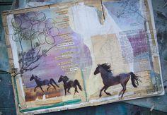 to go into the world : the artwork of mae chevrette: in the studio, late summer