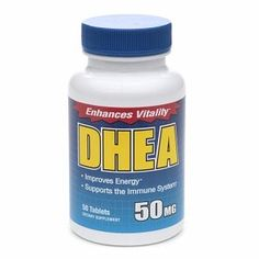 DHEA 50mg Tablets 50 ea -- Want additional info? Click on the image.