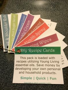 Young Living Essential Oils: Make and Take Class Party Workshop