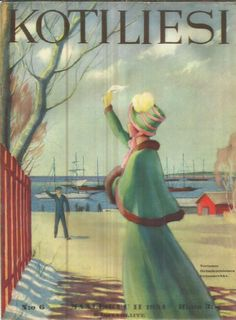 Children's Books, Magazine Covers, Finland, Martini, Nostalgia, Arts And Crafts, Illustrations, Times, Painting