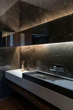 badgestaltung ideen schone bader badezimmer in schwarz mit marmor Modern Bathrooms Interior, Bathroom Design Luxury, Modern Bathroom Decor, Dream Bathrooms, Bath Design, Beautiful Bathrooms, Luxury Bathrooms, Marble Bathrooms, White Bathroom Paint