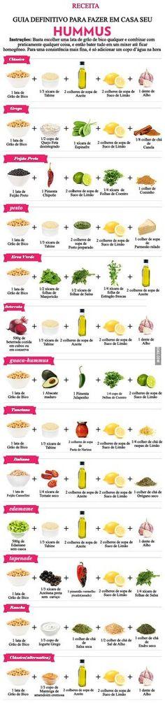 São 13 receitas diferentes. Do clássico com grão de bico, ao feijão preto.