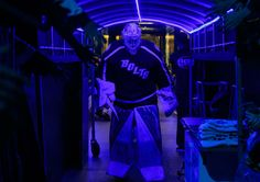 TAMPA, FL - DECEMBER 10: Goalie Andrei Vasilevskiy #88 of the Tampa Bay Lightning walks out to the ice for the pregame warm ups against the Pittsburgh Penguins at Amalie Arena on December 10, 2016 in Tampa, Florida. (Photo by Scott Audette/NHLI via Getty Images)