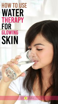 3 Amazing Benefits Of Water Therapy To Get Glowing Skin: Water can be your ultimate solution to treat many beauty issues including dull skin acne dark spots and what not! Lets check out how water can give you the ultimate beauty boost. Beauty Tips For Glowing Skin, Beauty Skin, Beauty Makeup, Skin Tips, Skin Care Tips, Beauty Secrets, Beauty Hacks, Beauty Ideas, Beauty Advice