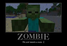 Logan wants to be a Minecraft zombie. Minecraft Funny, How To Play Minecraft, Minecraft Skins, Minecraft Stuff, Minecraft Houses, Best Games, Fun Games, Minecraft Creations, Gaming Memes