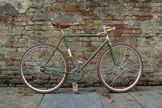 """Tweed"" vintage Coaster brake bicycle by Ferrivecchi cicli"