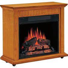 Heat Surge Heat Surge Mini Glo Infrared Led Fireplace 1200