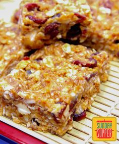 Chewy No-bake Granol