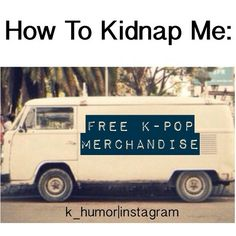 Free k-pop and attack on titan merchandise is for me