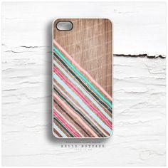 iPhone 5C Case Wood Print, iPhone 5s Case Chevron, iPhone 4 Case, iPhone 4s Case, Geometric iPhone Case, Coral Chevron iPhone Cover I129