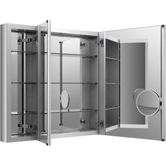 Looking for KOHLER Verdera By Slow-Close Medicine Cabinet With Magnifying Mirror ? Check out our picks for the KOHLER Verdera By Slow-Close Medicine Cabinet With Magnifying Mirror from the popular stores - all in one. Mirror Cabinets, Bathroom Cabinets, Bathroom Storage, Bathroom Ideas, Bathroom Remodeling, Bathroom Inspo, Bath Ideas, Glass Cabinets, Bathroom Updates