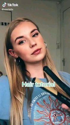 Hair Tips Video, Hair Videos, Medium Hair Styles, Curly Hair Styles, Haircuts Straight Hair, Aesthetic Hair, Hair Hacks, Dyed Hair, Hair Inspiration