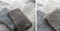 Fine og enkle ting til nye strikkere - Gratis mønster
