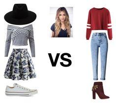 """""""VS"""" by marianaraposo on Polyvore featuring WithChic, Aquazzura, Chicwish, Converse and rag & bone"""