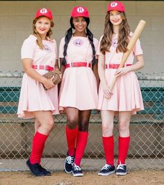 A League Of Their Own | 16 Group Halloween Costumes For You And Your Squad