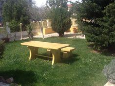 Πέτρινο τραπέζι στον κήπο μου