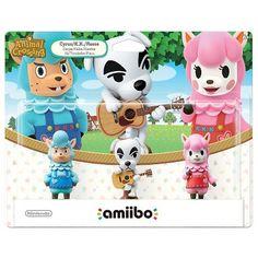 Nintendo Animal Crossing 3-Pack amiibo Figures - Cyrus, K.K. and Reese