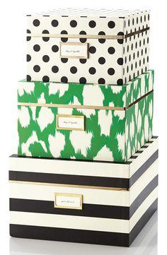 Kate Spade Storage Nesting Boxes