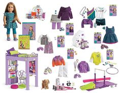 GOTY collection boards… added Lea | American Girl Playthings!