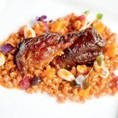 Grains, Pork, Rice, Meat, Chicken, Kale Stir Fry, Seeds, Pork Chops, Laughter