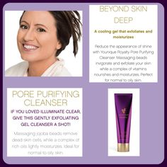 Give your skin the Royal Treatment with Younique's new Pore Purifying Cleanser! Available for purchase mid September 2016! I am so excited about these products!  #YouniqueRoyalty www.callofbeauty.us