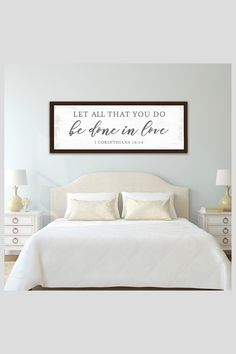 Family Bible Verses, Bible Verse Decor, Bible Verse Signs, Bible Verses About Love, Bedroom Signs, Bedroom Wall, Bedroom Ideas, Baby Room Quotes, Christian Signs