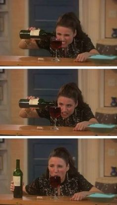 julia louis dreyfus. This is the best picture sequence ever. Lol.