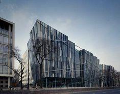 Erick van Egeraat, Budapest Buildings, Hungary, Images, Budapest Building Designs